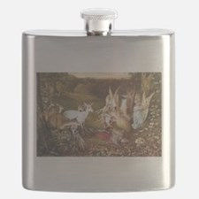 Fairies and animals Flask