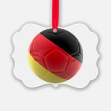 Germany world cup ball Ornament
