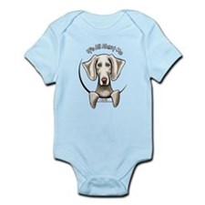 Weimaraner IAAM Infant Bodysuit