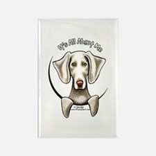 Weimaraner IAAM Rectangle Magnet