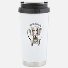 Weimaraner IAAM Stainless Steel Travel Mug