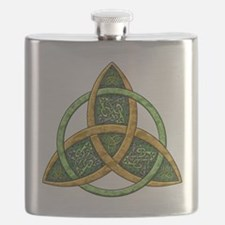 Celtic Trinity Knot Flask