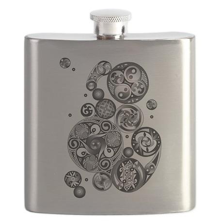 Celtic Clockwork Flask