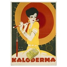 German advertisement for 'Kaloderma' Soap, printed Poster