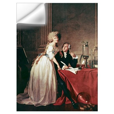 Lavoisier and his wife, 1788 Wall Decal