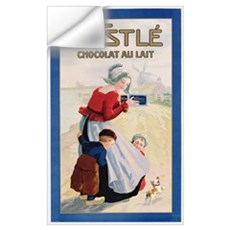Advertisement for Nestle Chocolat au Lait, c.1920 Wall Decal