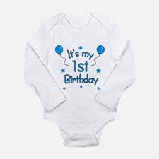 1stbdayblue Body Suit