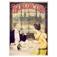 Advertisement for Benedictine, printed by Imp. And Poster