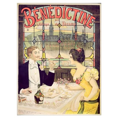 Advertisement for Benedictine, printed by Imp. And Framed Print