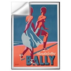 Advertisement for Bally sandals, 1935 (colour lith Wall Decal