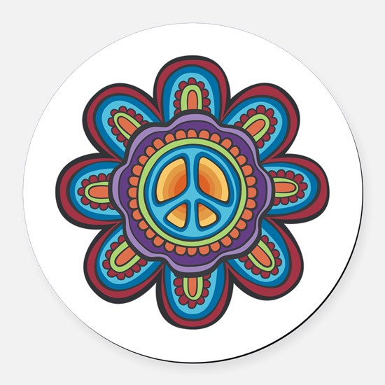 Hippie Car Magnets Cafepress