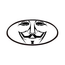 Fawkes Mask Patches
