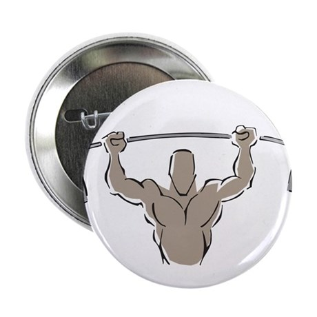 "Lifting Weights 2.25"" Button"