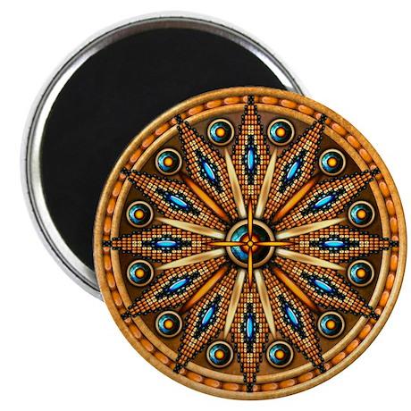 Native American Rosette 09 Magnet