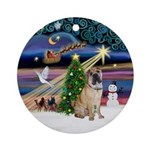 XmasMagic-Chinese SharPei Ornament (Round)