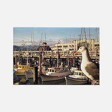 Fishermans Wharf Rectangle Magnet