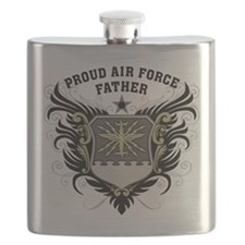 Proud Air Force Father Flask