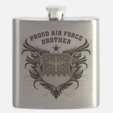 Proud Air Force Brother Flask