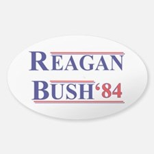 Reagan Bush '12 Sticker (Oval)