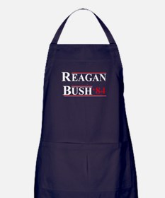 Reagan Bush '12 Apron (dark)