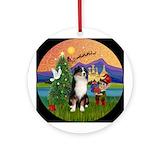Australian shepherd ornament Round Ornaments