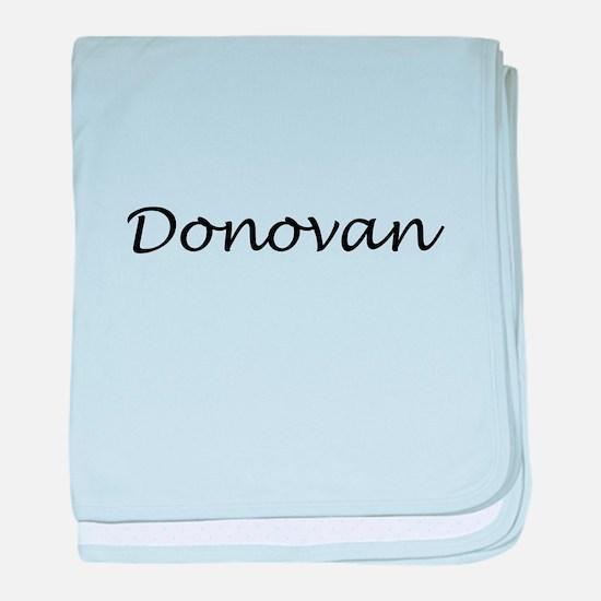 Donovan baby blanket