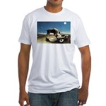 Henri Rousseau The Sleeping Gypsy Fitted T-Shirt