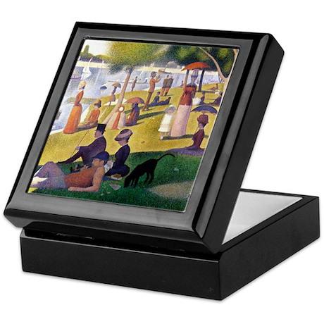 Georges Seurat La Grande Jatte Keepsake Box