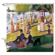 Georges Seurat La Grande Jatte Shower Curtain