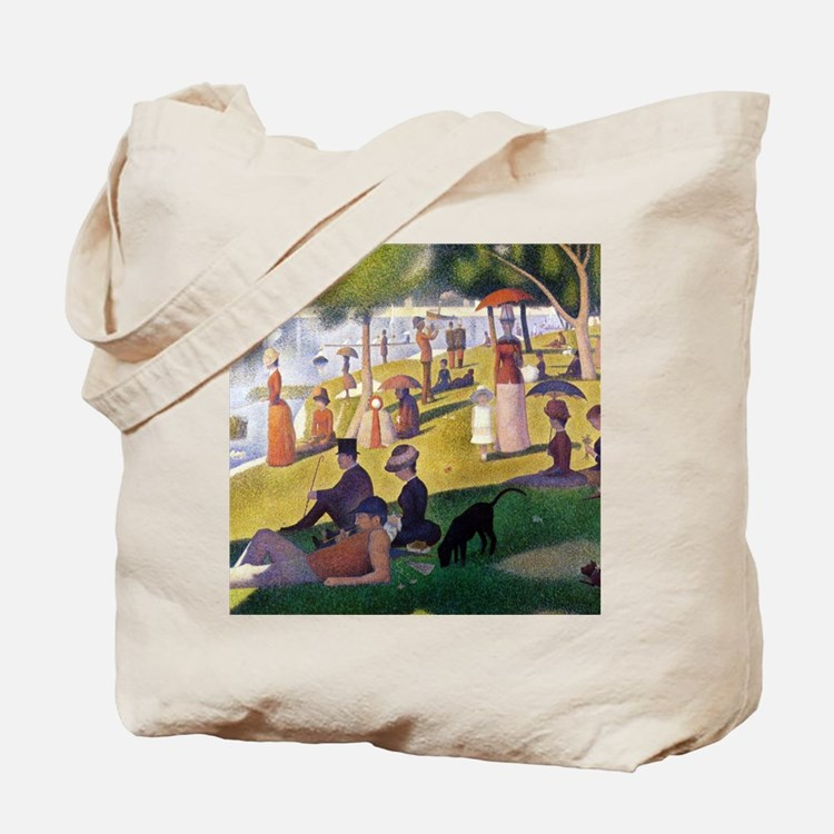 Georges Seurat La Grande Jatte Tote Bag