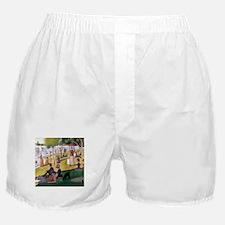 Georges Seurat La Grande Jatte Boxer Shorts