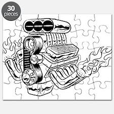 Hot Rod Engine Puzzle