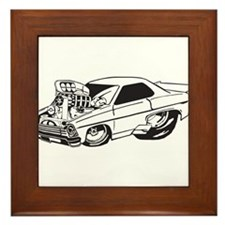 Muscle Car Framed Tile