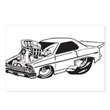 Muscle Car Postcards (Package of 8)