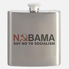 No Socialism Flask