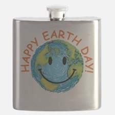 Happy Earth Day Flask