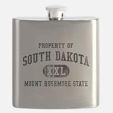 South Dakota Flask