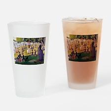 Georges Seurat La Grande Jatte Drinking Glass