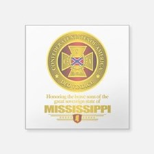 "Mississippi SCH Square Sticker 3"" x 3"""
