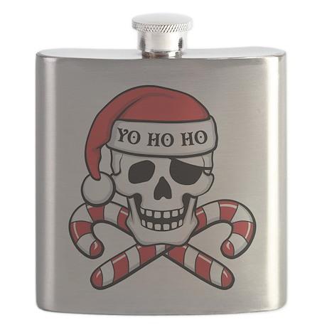 Christmas Pirate Flask