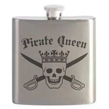 Pirate Queen Flask