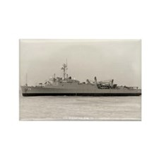 USS HERMITAGE Rectangle Magnet