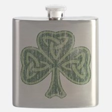 Vintage Trinity Shamrock Flask