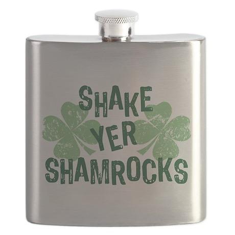 Shake Yer Shamrocks Flask