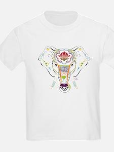 Jewel Elephant Girls Light T-Shirt