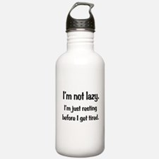 Not Lazy Water Bottle