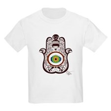 Hamsa Brown Boys Light T-Shirt