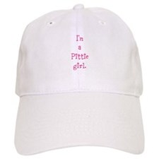 I'm a Pittie girl. Baseball Cap