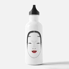 Japanese Mask Water Bottle