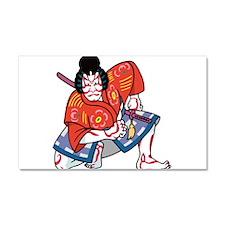Kabuki Actor Car Magnet 20 x 12